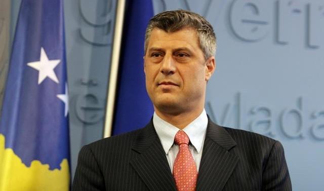 Hashim Thaçi, ancien chef de la guérilla élu président du Kosovo