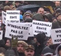 Manifestations au Kosovo en soutien à Ramush Haradinaj